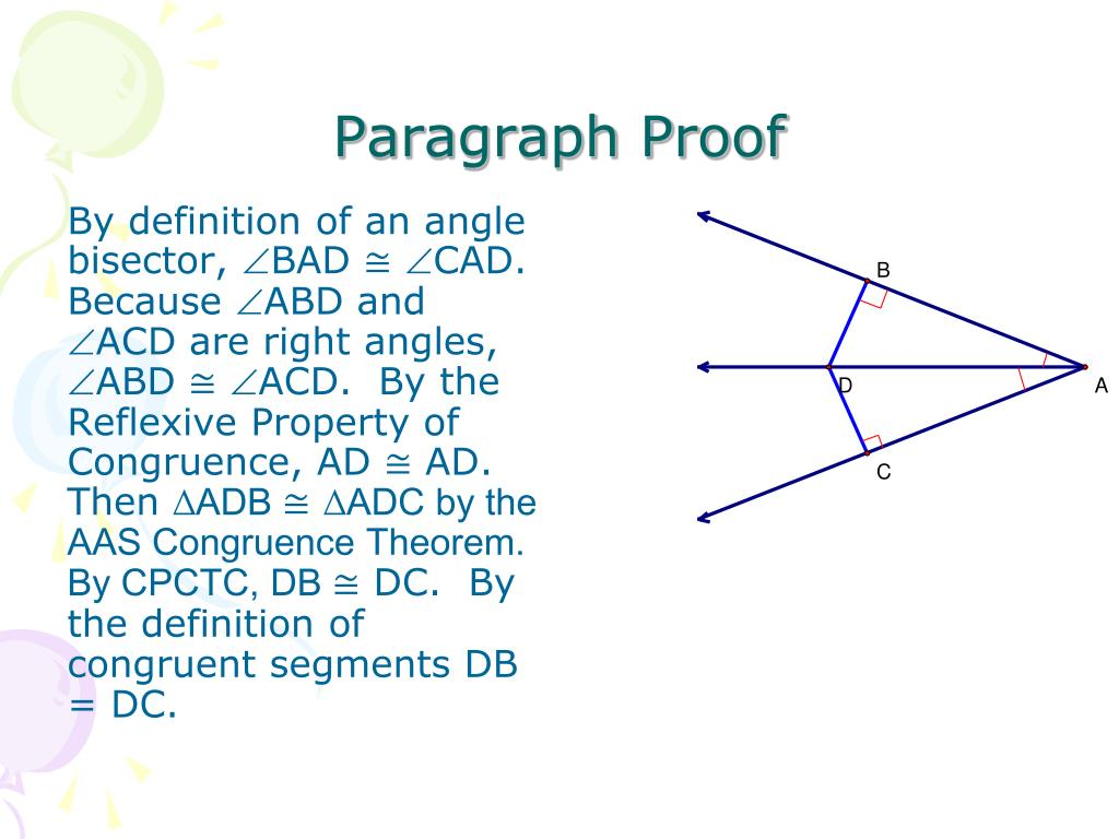 Proof Definition Of Segment Bisector