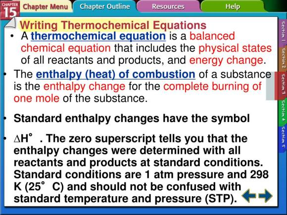 PPT - Section 15.3 Thermochemical Equations PowerPoint ...