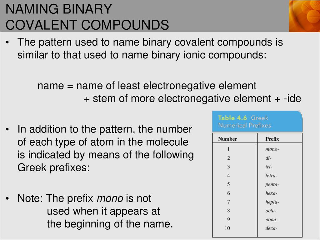 How To Name Binary Ionic Compounds