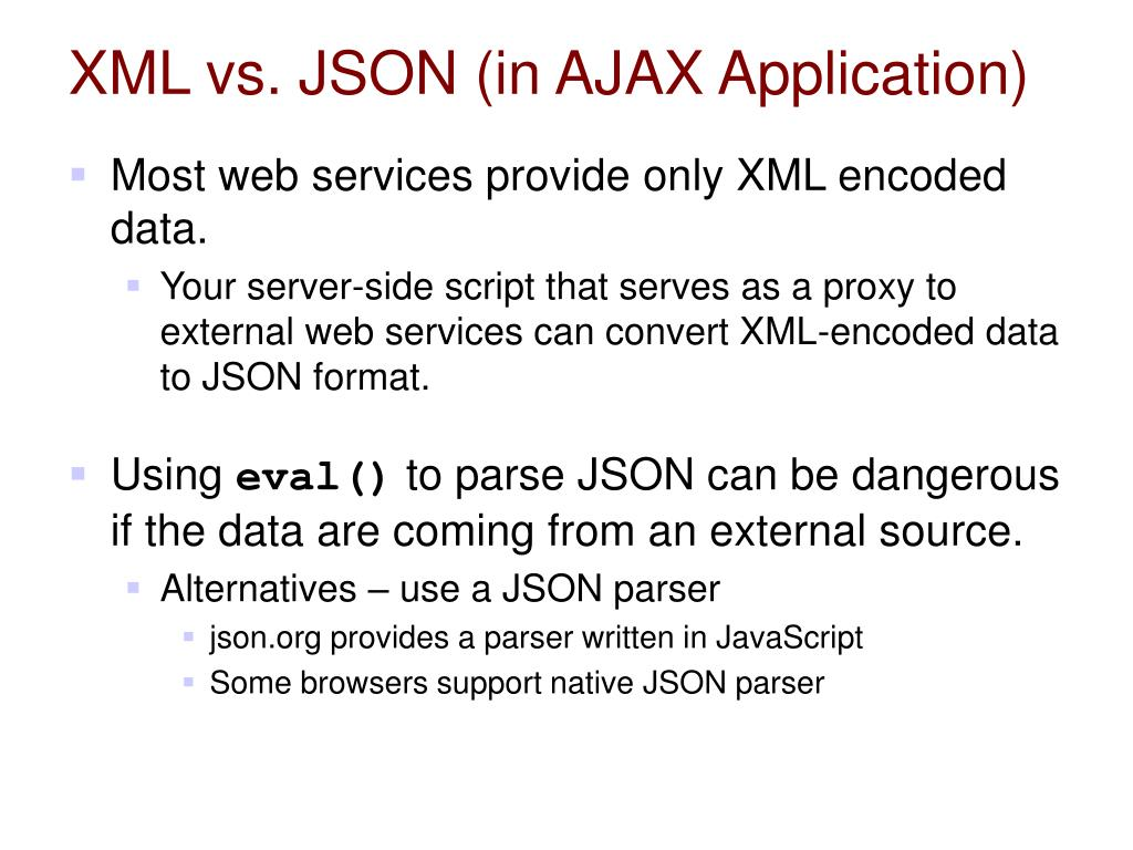Ppt Json Javascript Object Notation Powerpoint