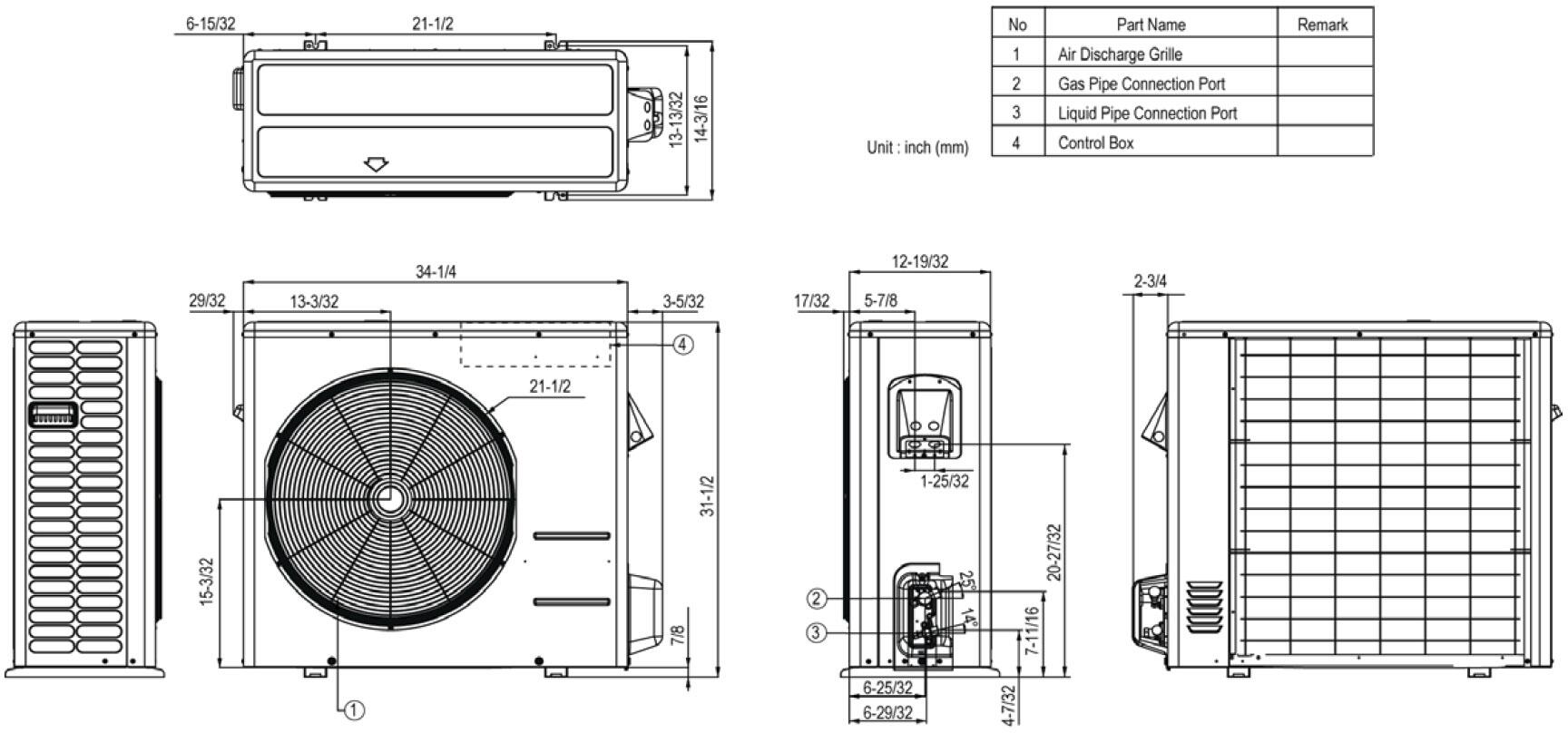 Lg Ls303hlv Air Conditioner Cooling Area Adjustable Air