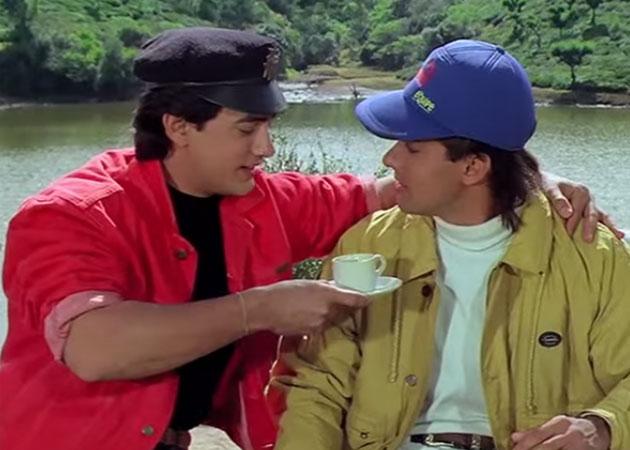 Image result for andaz apna apna chai scene