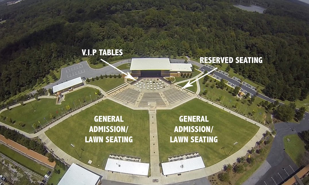 Lakewood Amphitheater Lawn Seats