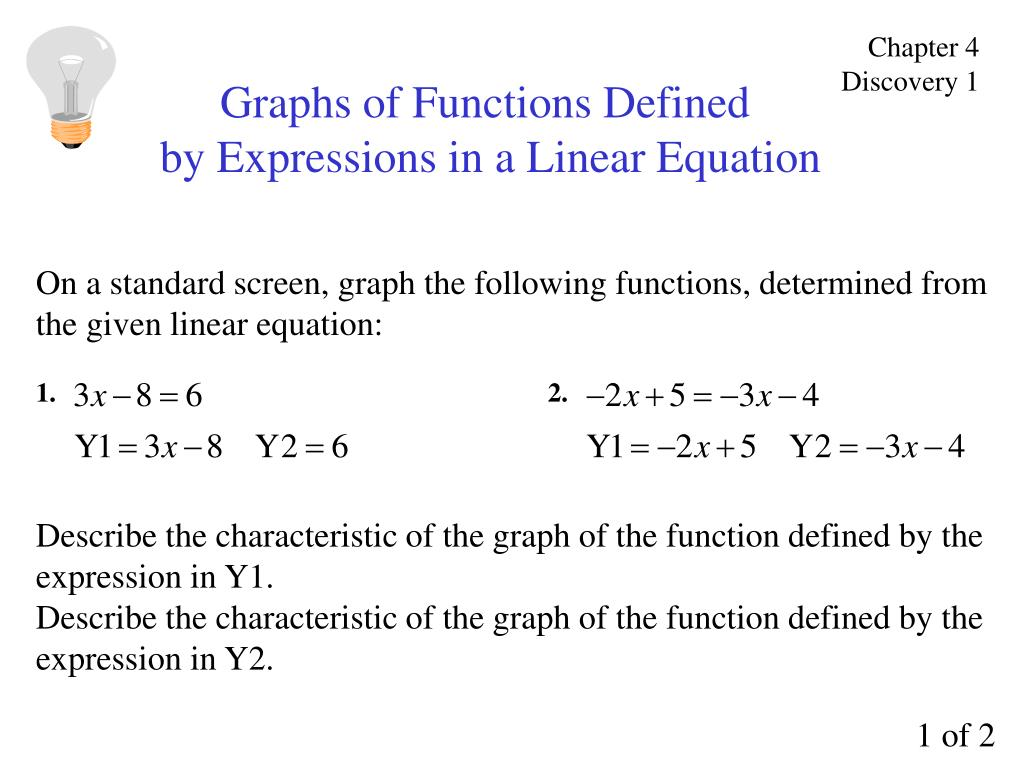 Linear Equation Definition