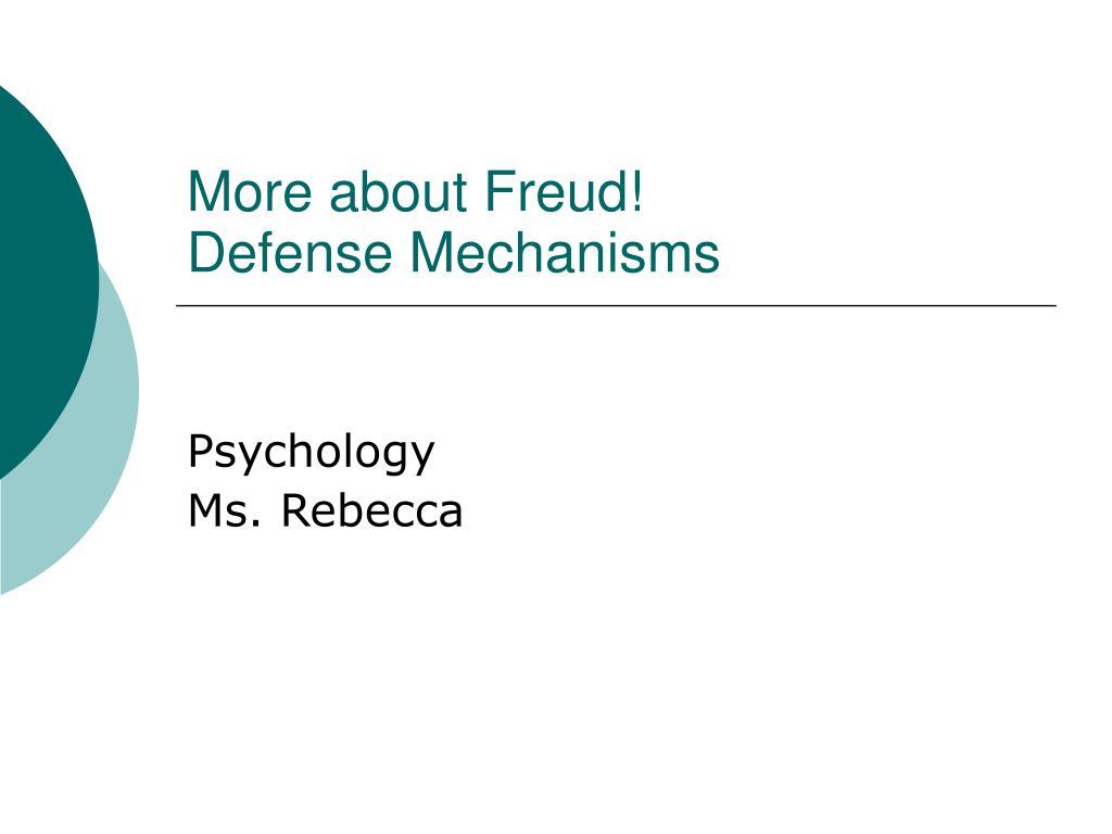 Freudian Defense Mechanisms Worksheet Printable Worksheets And
