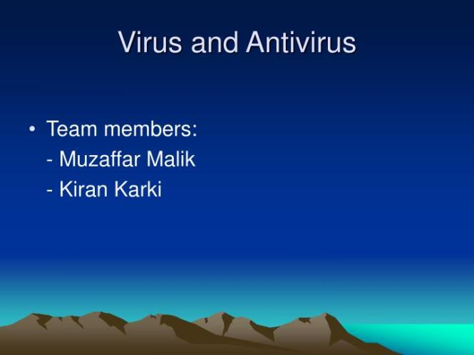 Antivirus Programs And Companies