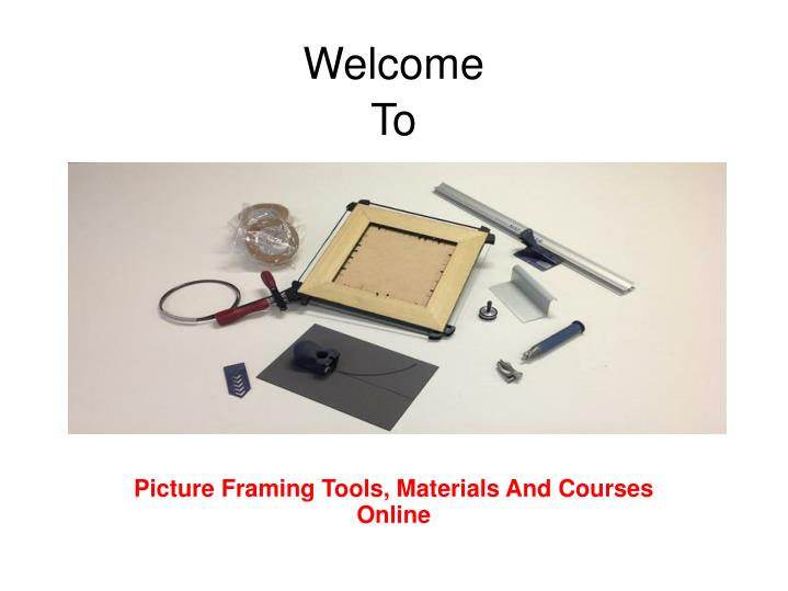 Magnificent Picture Framing Course Embellishment - Frames Ideas ...