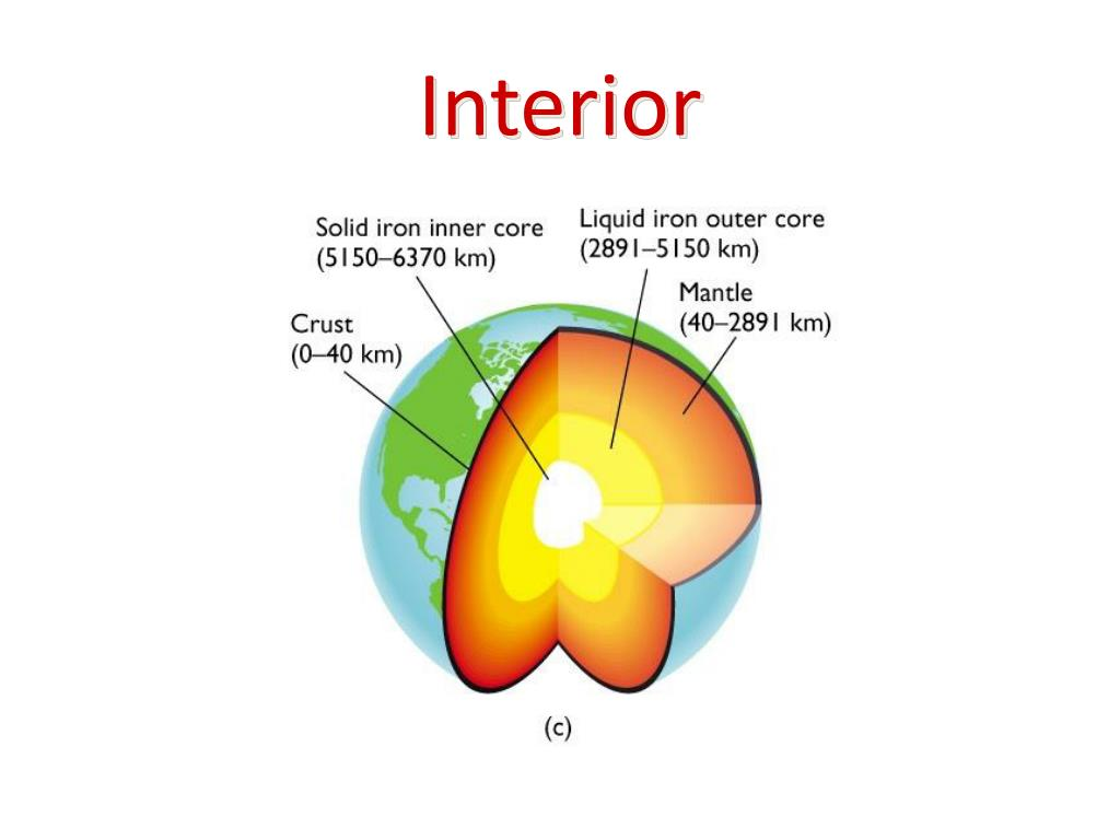 Interior Earths Interior Worksheet 1 Answers