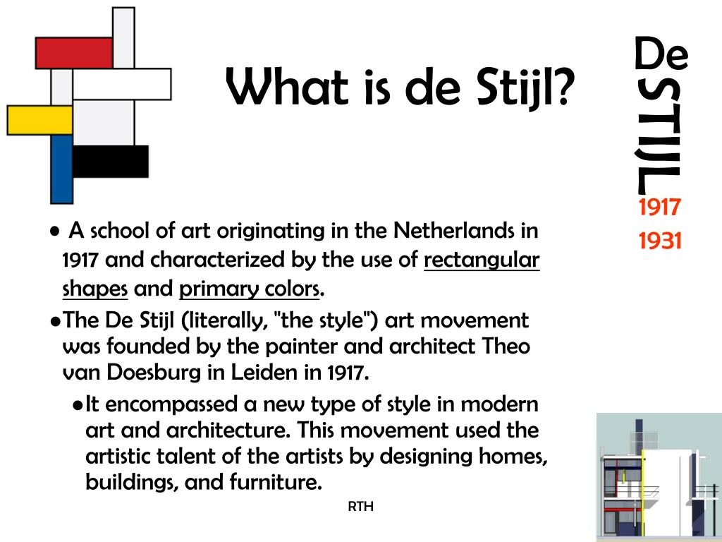 Ppt What Is De Stijl Powerpoint Presentation Free Download Id 6615377