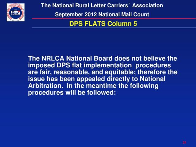 Ppt National Rural Letter Carriers