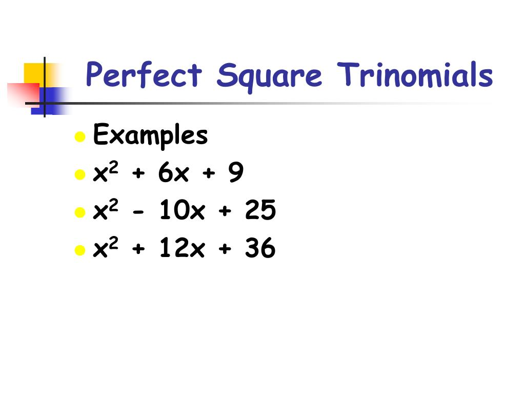 Cipir6 Square Of Trinomial Examples With Answers