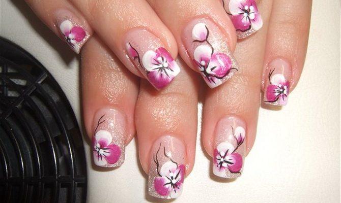 использования декоративного рисунок на ногти фото орхидея фламинго строят