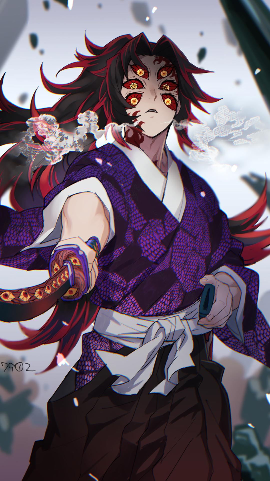 Kokushibo Upper Moon One Kimetsu No Yaiba 4k Wallpaper 187