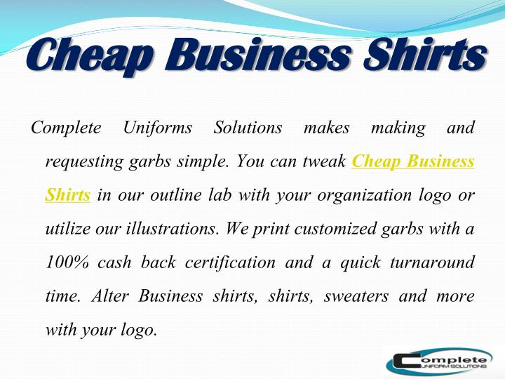 PPT - Leading Uniform Supplier and Manufacturer Company ...