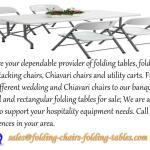 Ppt Folding Chairs And Tables Larry Powerpoint