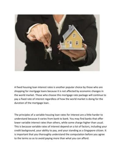 PPT - Housing Loan Interest Rates Advice for Loan ...