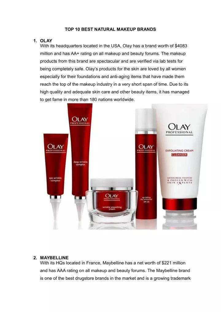 Top 10 Best Makeup Brands In Us | Amtmakeup co