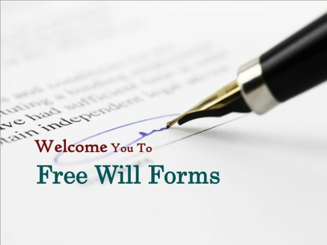 PPT   Last Will and Testament Form PowerPoint Presentation   ID 7752736 Welcome You To  Free Will Forms