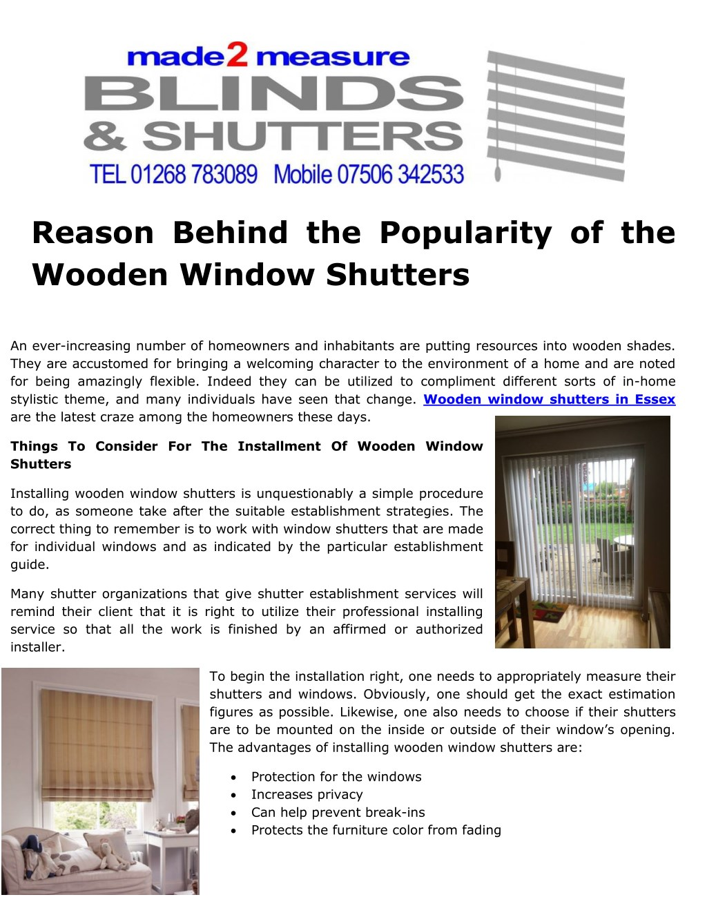 Ppt Reason Behind The Popularity Of The Wooden Window