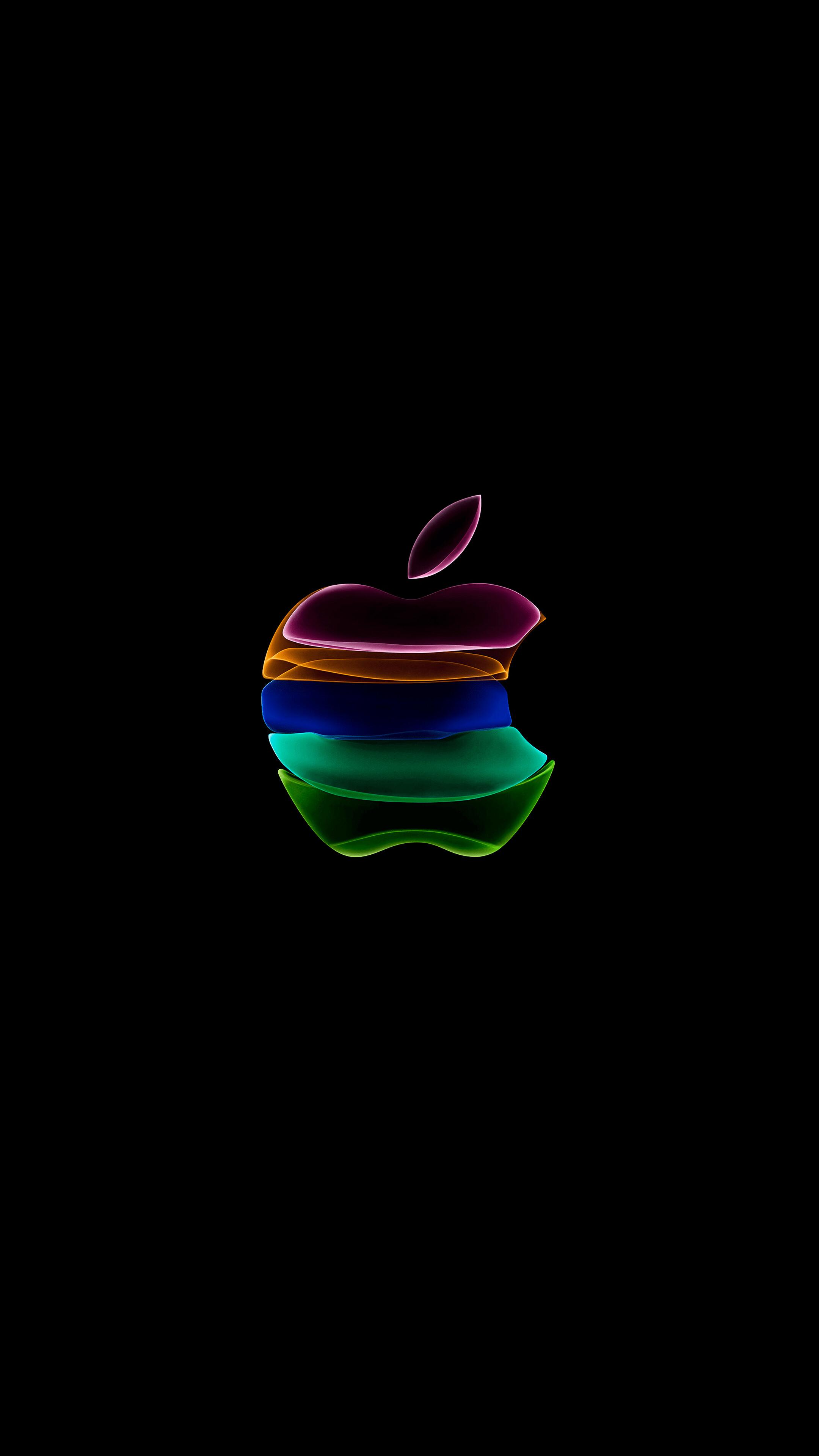 Iphone 11 Apple Logo Black 8k Wallpaper 4 776