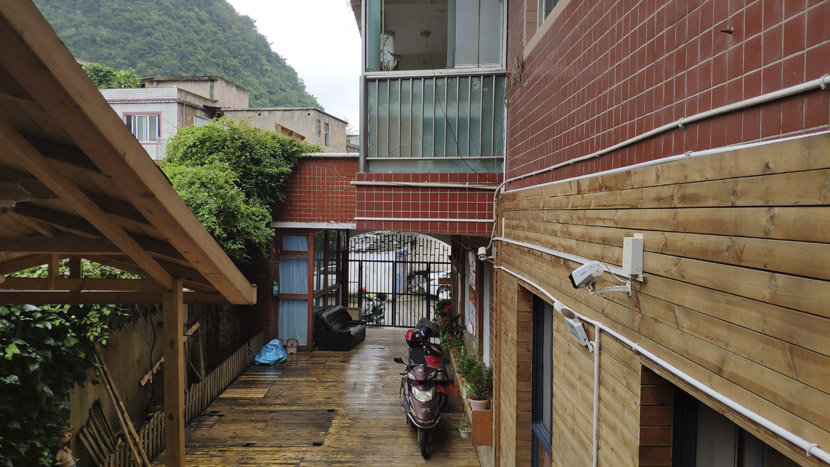 The entrance to the nursing home facility in Xiyanghong, Guiyang, Guizhou province, June 17, 2019. Fan Yiying/Sixth Tone