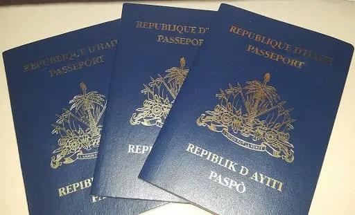 IMMIGRATION: Bientôt les Haïtiens seront dotés d'un passeport biométrique - passeport haïtien