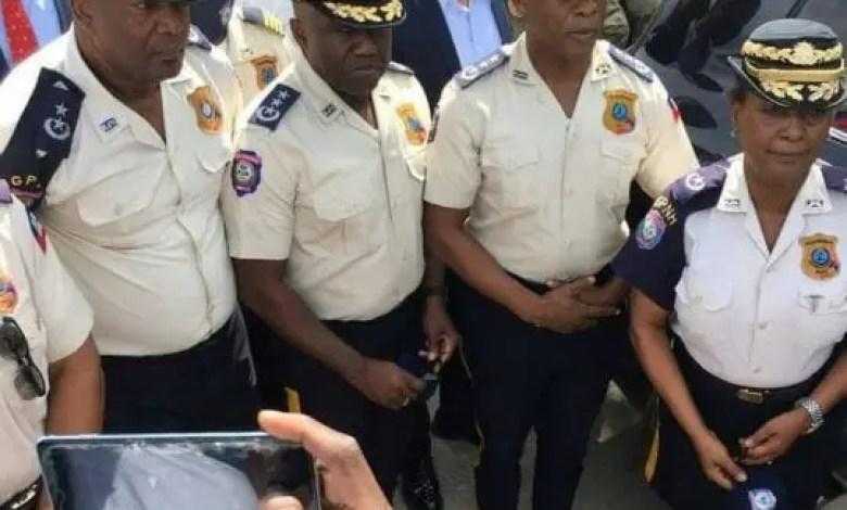 Léon Charles opère des changements au sein du haut commandement de la Police -