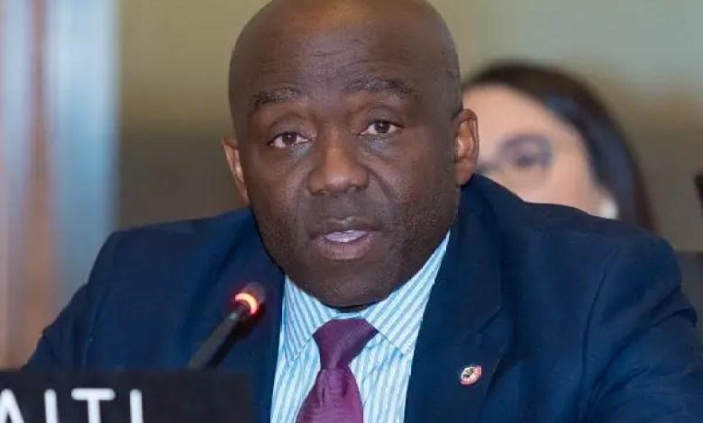 Le DG de la PNH Léon Charles, renouvelle sa volonté de garantir la sécurité dans le pays - Léon Charles
