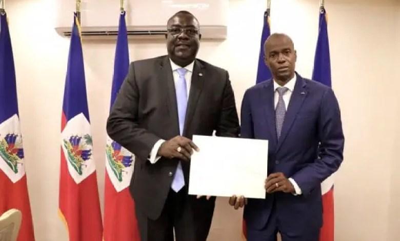 Le diplomate Bocchit Edmond nommé Ambassadeur d'Haïti à Washington - Ambassadeur, Bocchit Edmond, États-Unis, Washington
