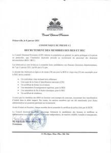 Le CEP recrute les membres de BEC et de BED - CEP