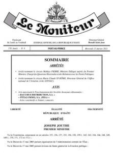 MathiasPierrenomméministredans la République deJovenelMoïse - André Michel, Coronavirus, Joseph jouthe, Moïse Jean Charles