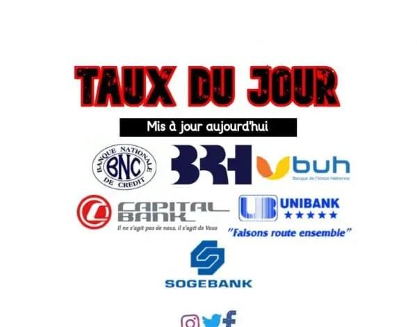 Taux du jour affichés par les banques pour ce 11 Aout 2021 -