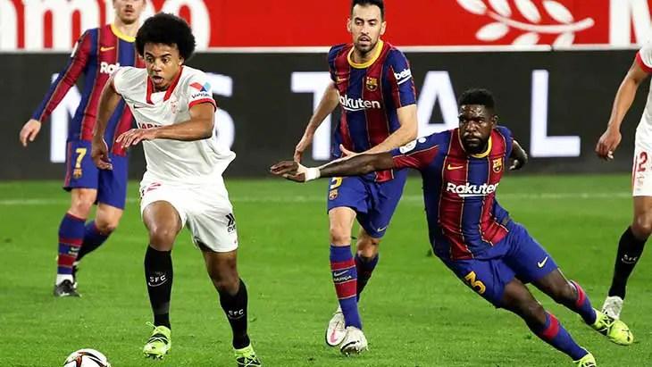 Défaite du Barça face au Seville Samuel Umtiti reproché sur les deux buts - Barça, FC Barcelone, Seville