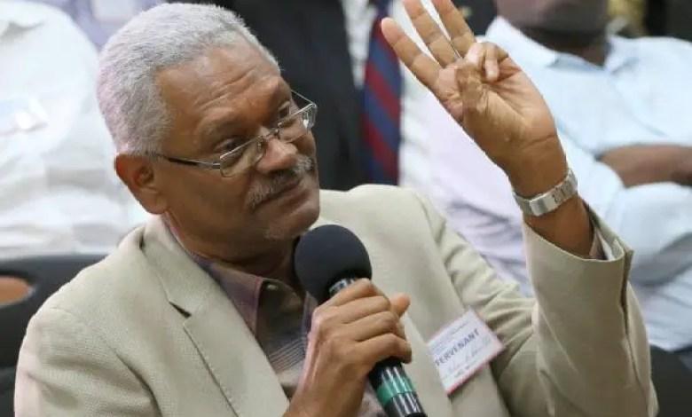 Haïti-Crise : Marcheen tenue blanche pour ce 14 février 2021 - Edouard Paultre, marche