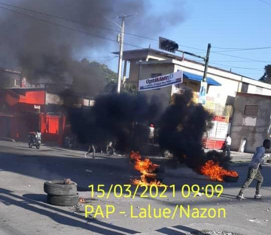 Situation de tension à Port-au-Prince... -
