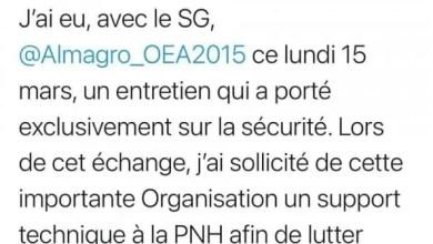 Banditisme: Jovenel Moïse sollicite l'appui technique de l'OEA - Village de Dieu