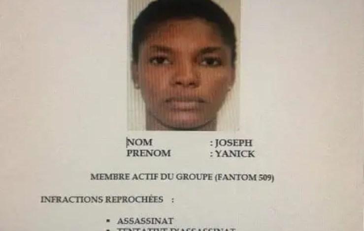 Avis de recherche: Yanick Joseph et d'autres membres du SPNH, activement recherchés par la Police - Spnh, Yanick Joseph