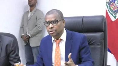 Le nouveau gouvernement de Claude Joseph a révoqué Audain Fils Bernadel de l'intérieur - Claude Joseph