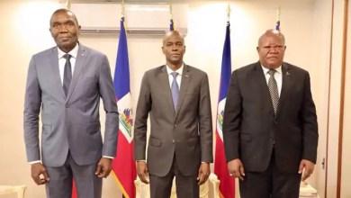 Jovenel Moïse rencontre les présidents du sénat et de la Cour de Cassation - Société