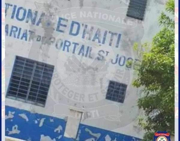 La PNH reprend le contrôle du sous-commissariat de Portail Saint Joseph -