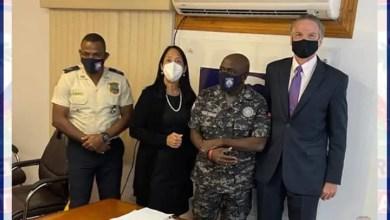 Haïti-Sécurité : rencontre entre une délégation américaine et le haut commandement de la PNH -