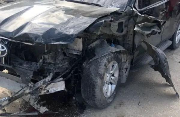 Le véhicule du ministre Claude Joseph impliqué dans un accident - Accident, Claude Joseph