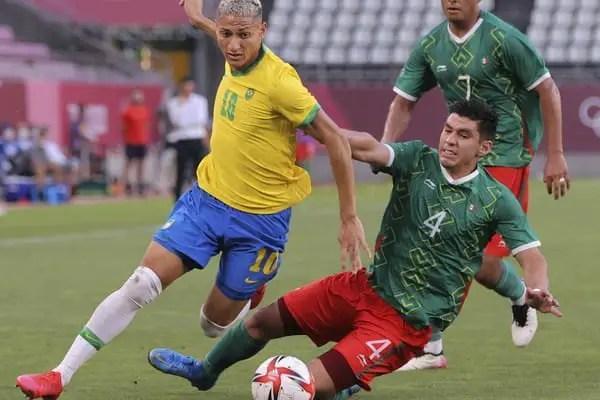 Football : le Bresil en final des jeux olympiques - Brésil, Football, Jeux olympiques