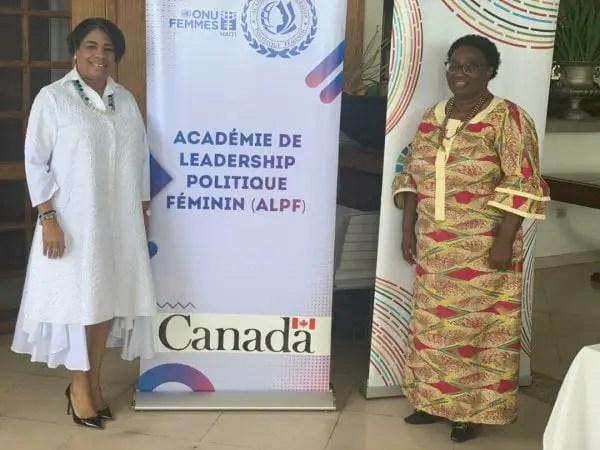 Leadership féminin: Selectionnée par ONU-Femmes Haïti, Maguy Durcé va participer au mentoring de 80 femmes en politique en Haïti -
