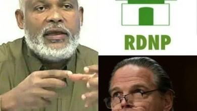 Haïti-Crise politique : la position du RDNP lors de la rencontre avec l'envoyé spécial américain, Daniel Lewis Foote - Daniel Foote, Eric Jean Baptiste, RDNP