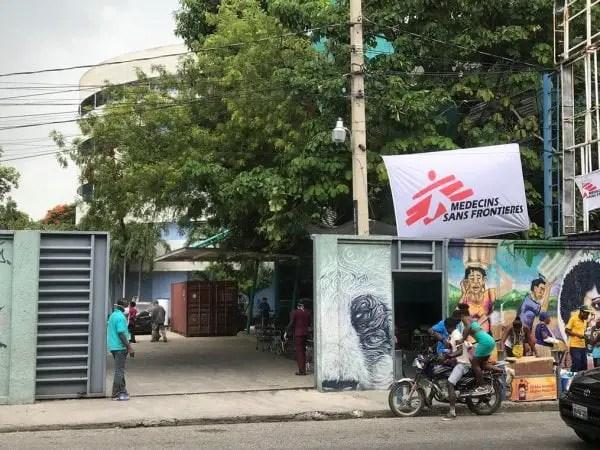 Le CDTI se trouvant à l'avenue Charles Summer, la nouvelle adresse de Médecins Sans Frontières fuyant Martissant - Martissant, MSF