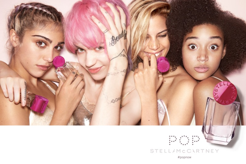 CAMPAIGN Lourdes Leon, Amandla Stenberg, Grimes, Kenya Kinski-Jones for POP by Stella McCartney 2016. www.imageamplified.com, Image Amplified (2)