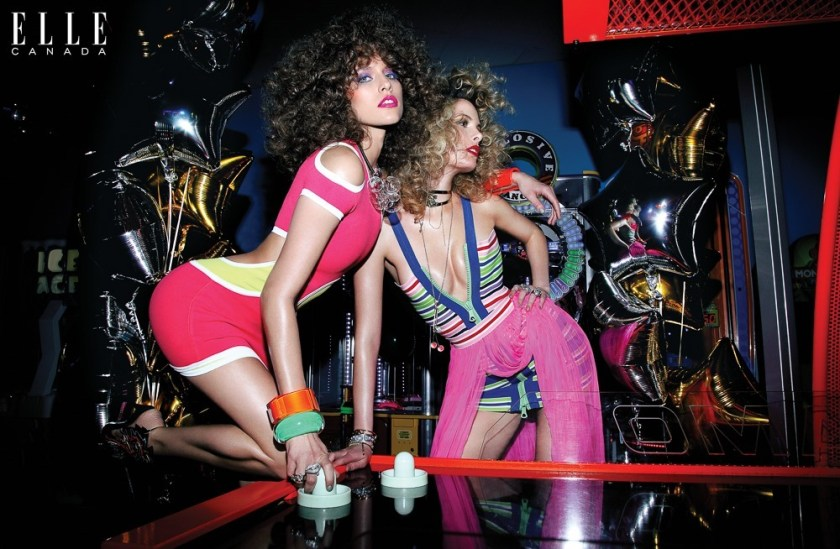 ELLE CANADA Kim & Jessiann by Richard Bernardin. Juliana Schiavinatto, May 2016, www.imageamplified.com, Image Amplified (1)