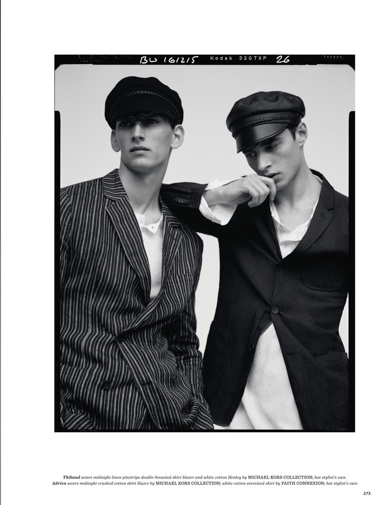 GQ STYLE UK Adrien Sahores & Thibaud Charon by Ben Weller. Luke Day, Spring 2016, www.imageamplified.comm, Image Amplified (6)