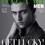 HARPER'S BAZAAR THAILAND MAN: Lucky Blue Smith by Lukasz Pukowiec